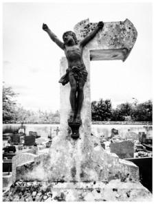 ruínas de cemitério
