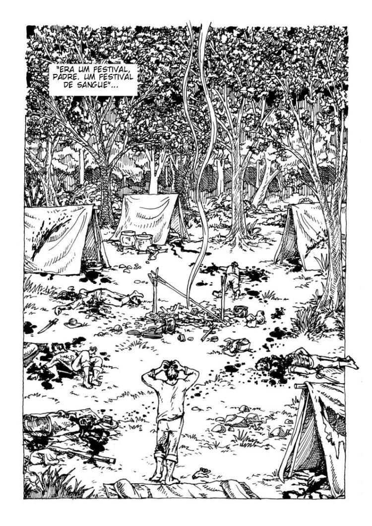 acampamento bandeirante