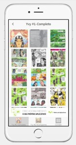 quadrinhos no celular