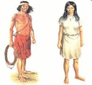 Vestimenta indígena missioneira.