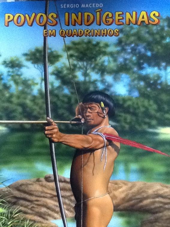 povos indígenas em quadrinhos