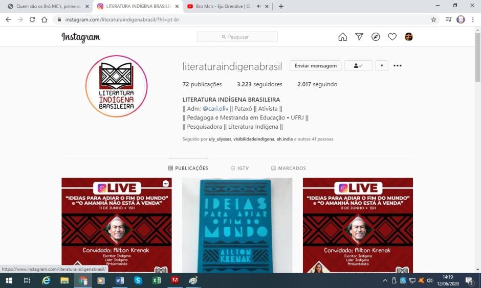 literatura indígena brasileira